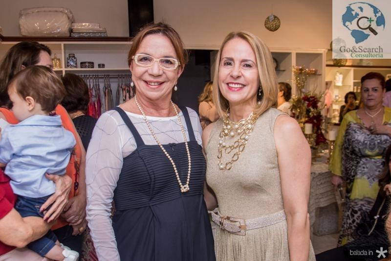 Lucia Wolf e Tereza Ximenes