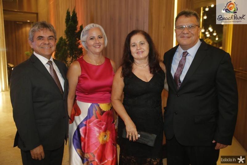 Julio Maia, Antonia Eva, Maria Teresa e Haroldo Saboya
