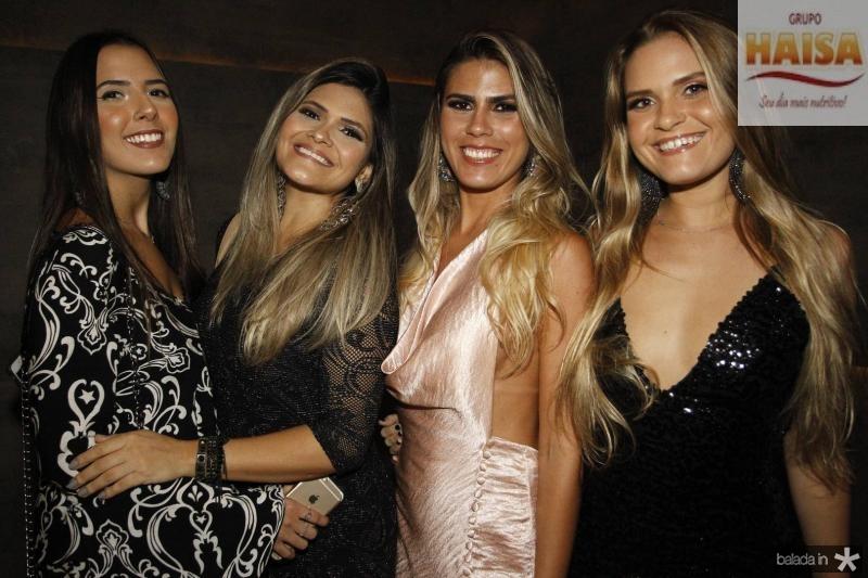 Livia Pontes, Lana Barroso, Nielen Alves e Celi Sombra