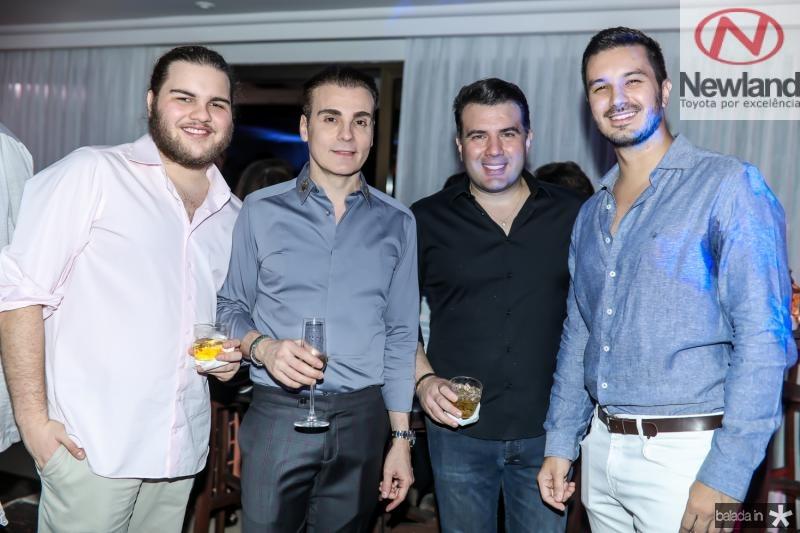 Leopoldo Cavalcante, Rodrigo Maia, Danilo Dias  e Levi Castelo Branco