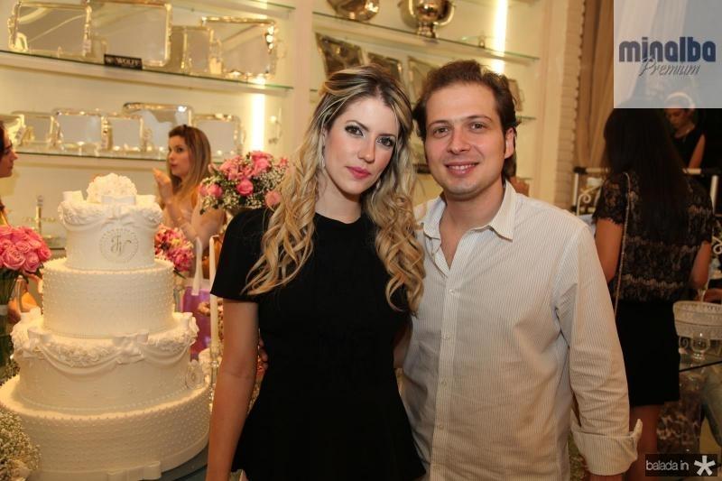 Raquel Macêdo e Humberto Cavalcante