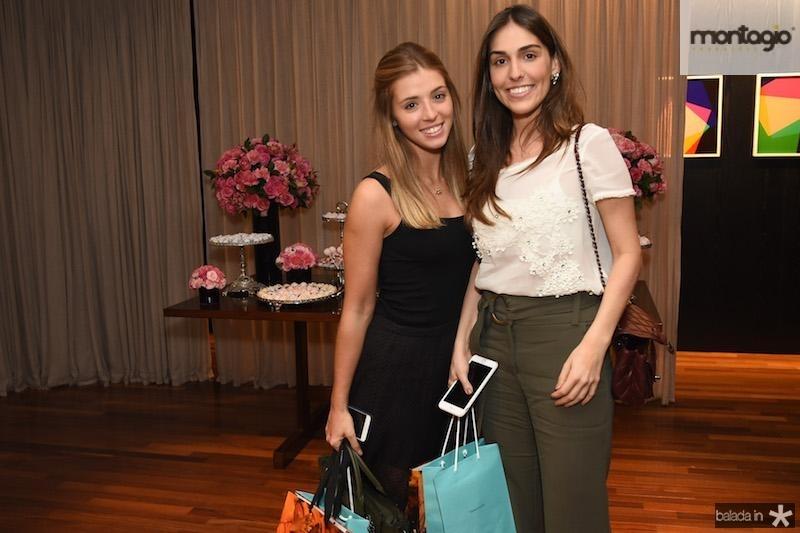Carolina Fiorin e Renata Parais