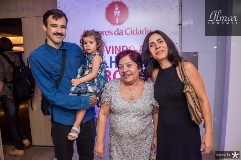 Ivan Timbo, Olivia Neves, Zenilda Lopes e Paula Neves