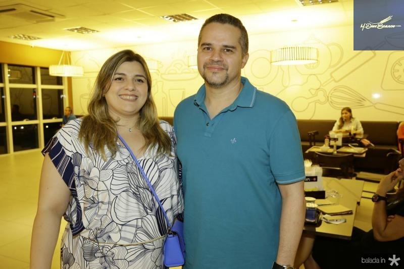 Karime Loureiro e Erico Barroso