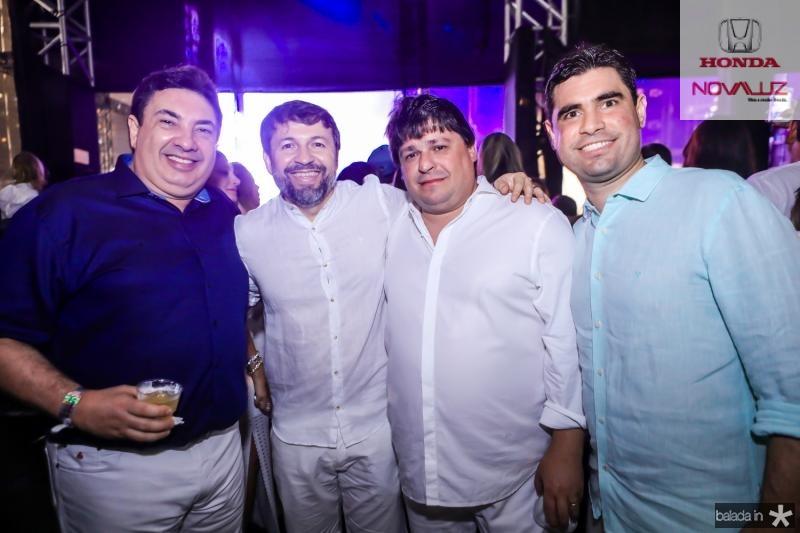 Marcos Dias Branco, Elcio Batista, George Lima e Bruno Barreira