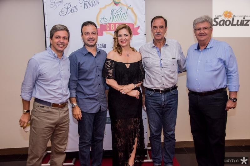 Romulo Alexandre, Danilo Serpa, Enid Camara, Armando Abreu e Carlos Maia