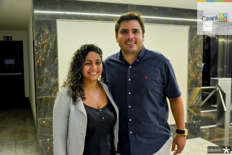 Priscila Barros e Marcelo Rios