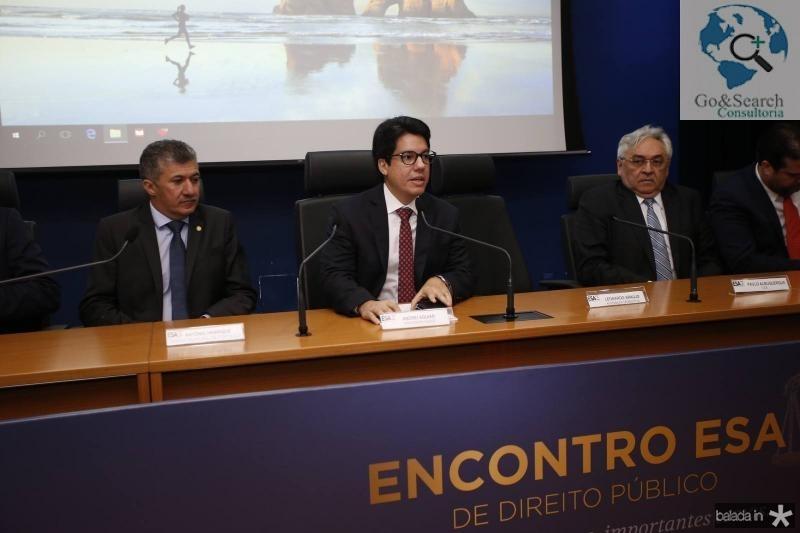 Antonio Henrique, Andrei Aguiar e Paulo Albuquerque