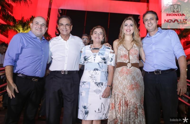 Roberto Claudio, Beto e Ana Studart, Onelia e Camilo Santana