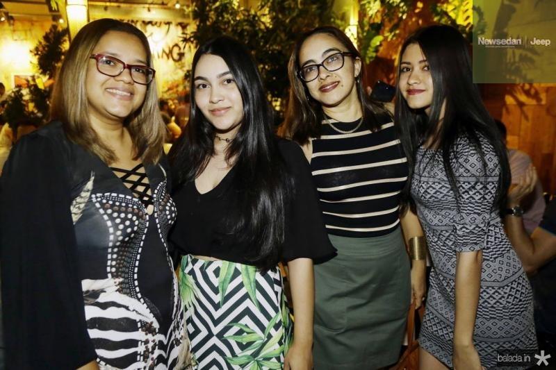 Karla Marques, Hanna, Hilda e Leticia Duailib
