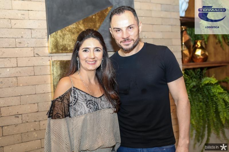 Luciana Cidrao e Eneldo Peixoto