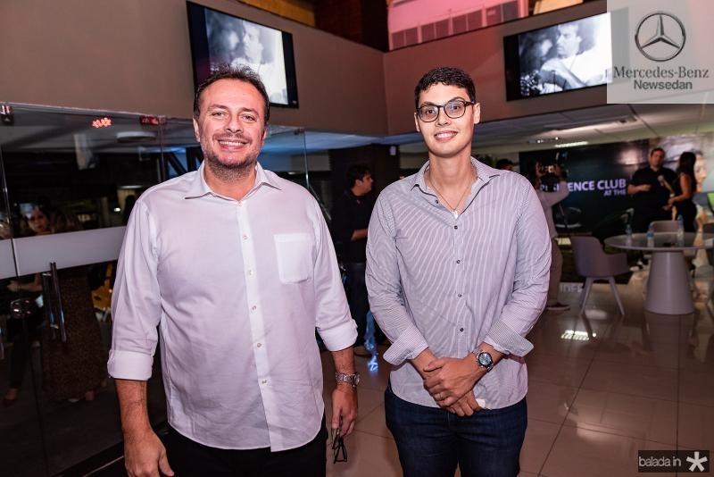 Adriano Nogueira e Lúcio Salazar