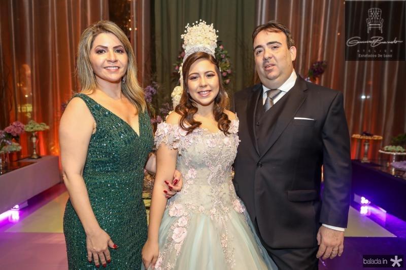 Joilza, Juliana e Claudio Jaco