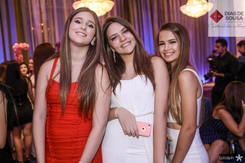Maria Clara Porto, Leticia Macedo e Bia Porto