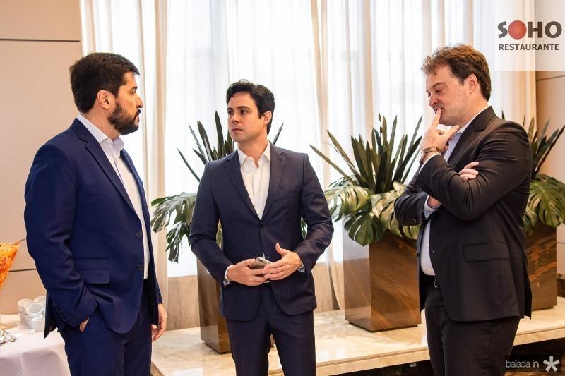 Rodolfo Pires, Paulo Duarte e Marcos Prado