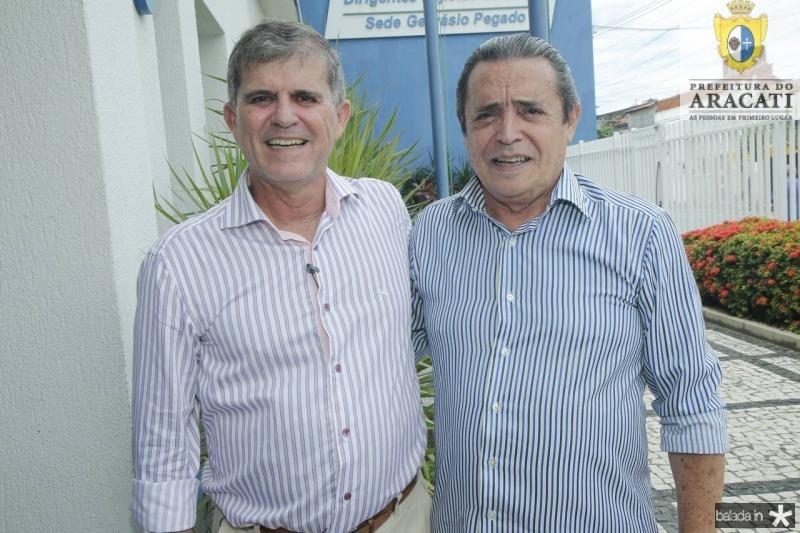 Guilherme Theophilo e Luiz Carlos Castelo