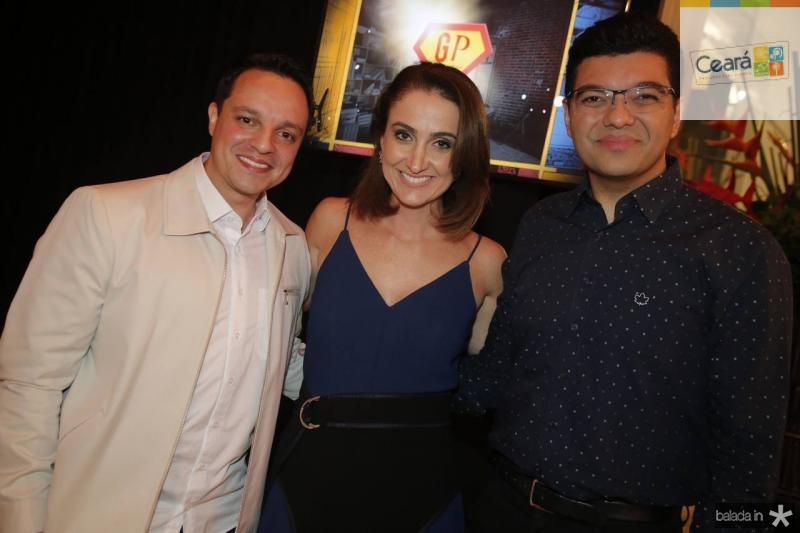 Fabio Pizzato, Patricia Nielsen e Luiz Esteves