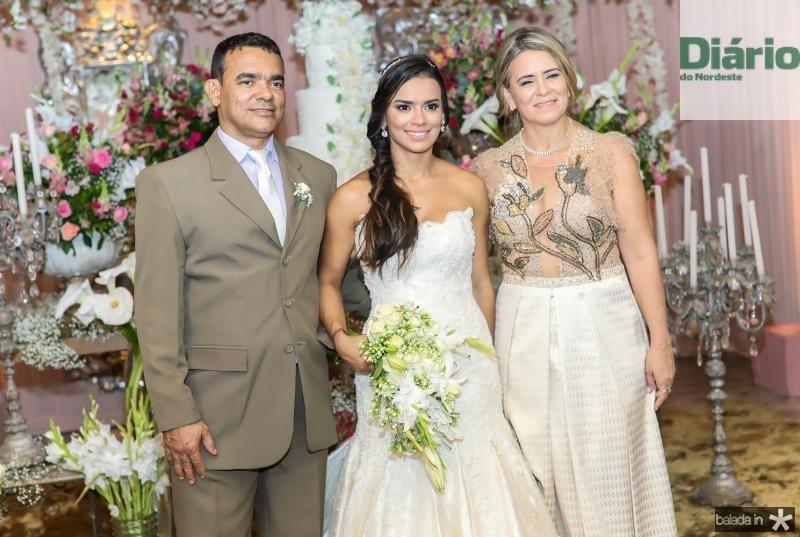 Civaldo Sousa, Veruska Lobo e Valdira Silva