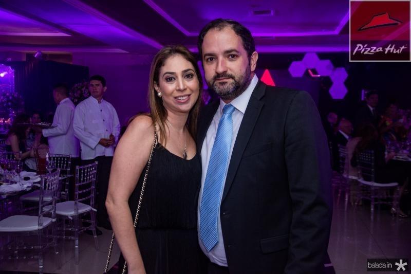 Luciana e Pedro Neto