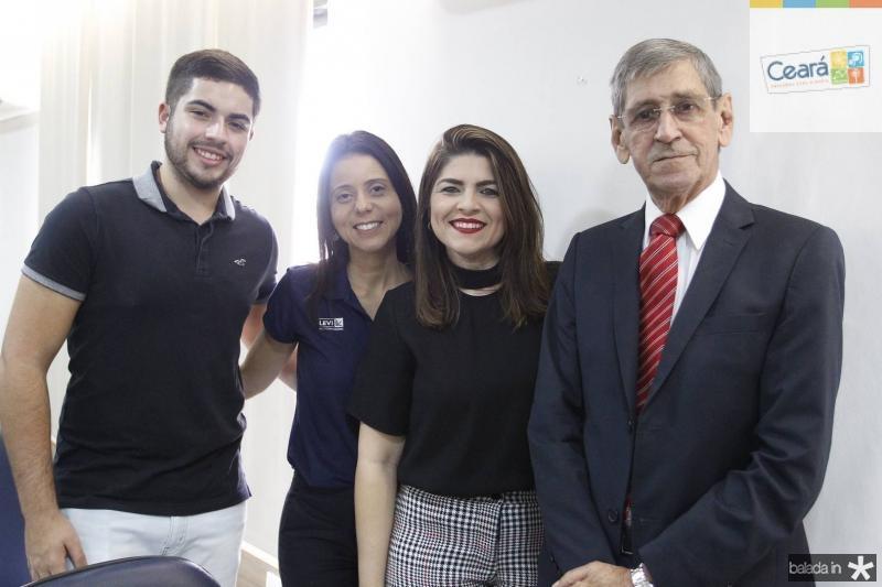Italvacir Alencar, Glauci Vieira, Carla Ribeiro e Orlando Kerpen