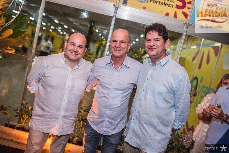 Roberto Claudio, Joao Carlos Parente e Cid Gomes