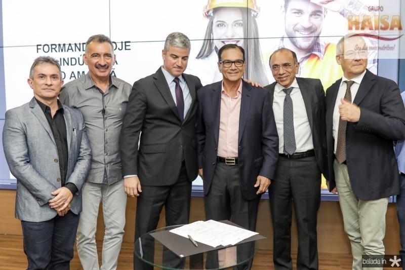Benildo Aguiar, Artur Bruno, Guilherme Lencastre, Beto Studart, Jose Nunes e Roberto Zanchi