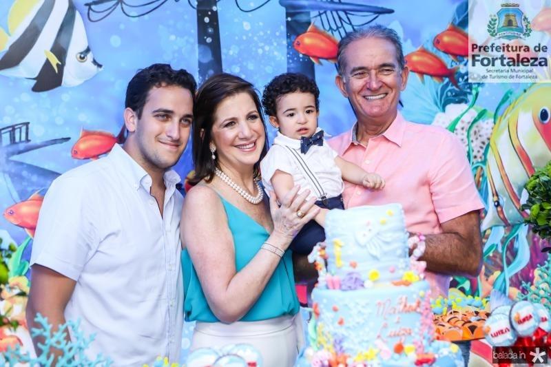 Ricardo Brasil, Ana Barroso, Matheus Becco e Ricardo Barroso