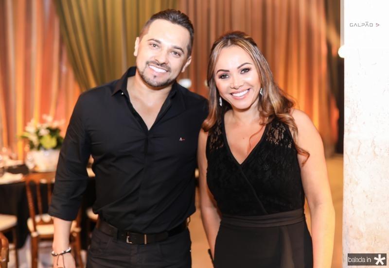 Naldo e Silvia Lemos