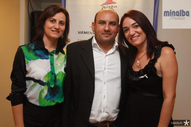 Isnara Praxedes,Maurilio Castro e Vanessa Gomes