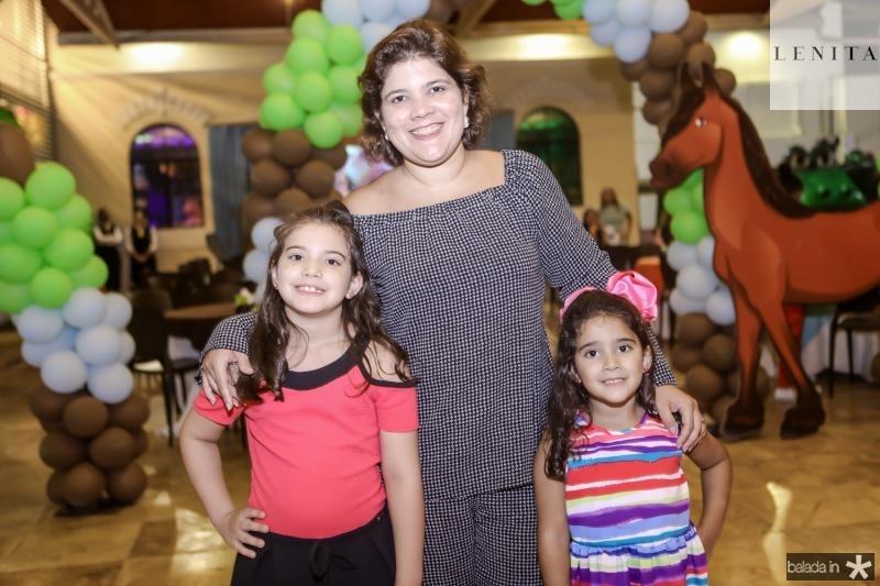Giulia, Gisela e Giovanna Vieira
