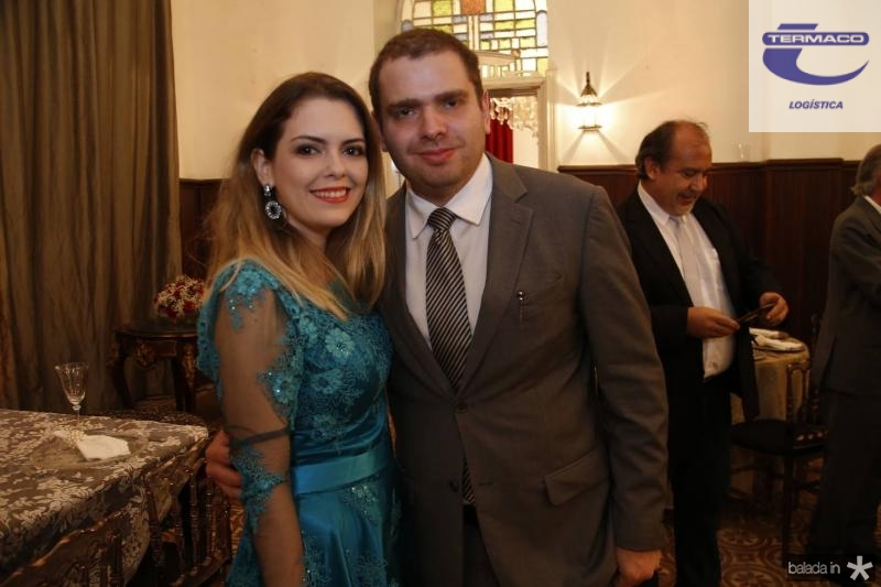 Juliana Rocha e Paulo Barbosa Neto