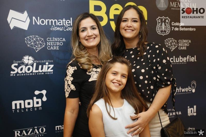 Clarissa Moura, Camila e Priscila Fiuza