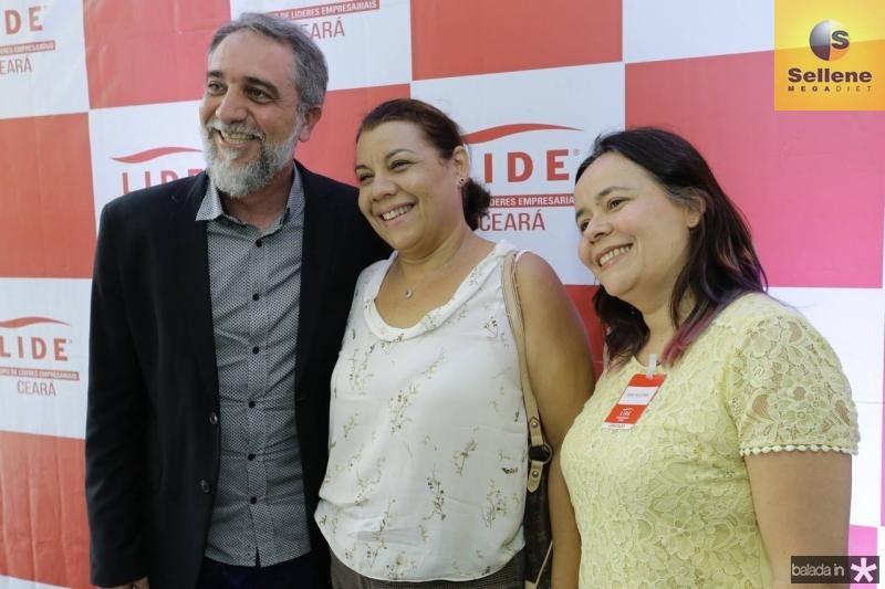 Mauro Costa, Cida Parente e Djane Nogueira 1