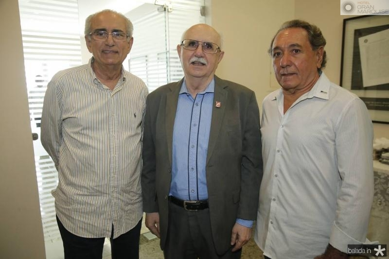 Bosco Macedo, Joao Bosco Freitas e Rogerio Aguiar