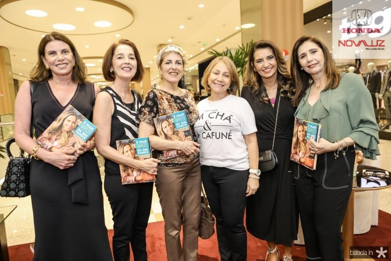 Sandra Pinheiro, Lurdinha Porto, Beatriz Otoch, Marcia Freire, Marcia Travessoni e Fatima Tavora