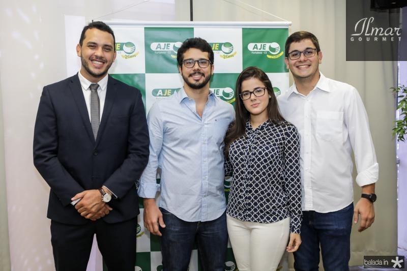Valdemir Alves, Rafael Fujita, Ingrid Collyer e Romualdo Neto
