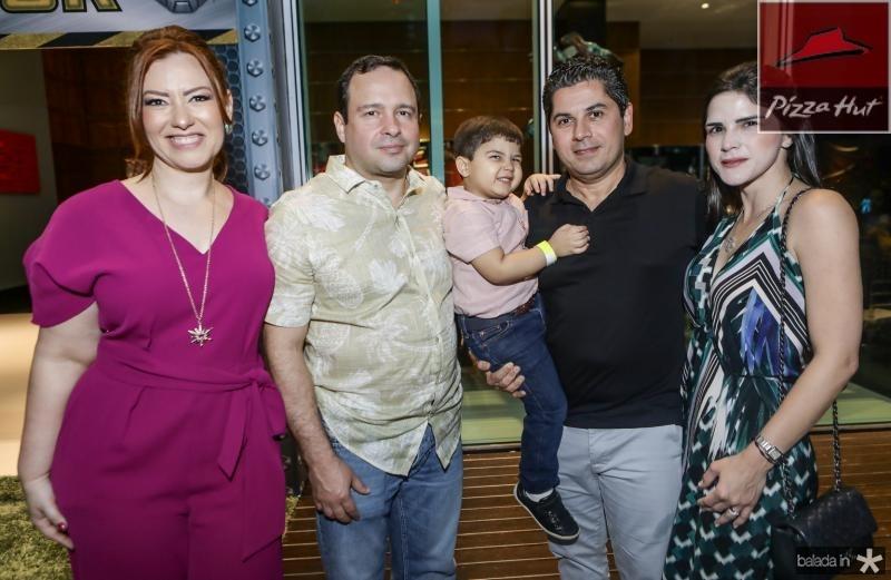 Aline e Igor Barroso, Pompeuzinho, Pompeu e Marilia Vasconcelos