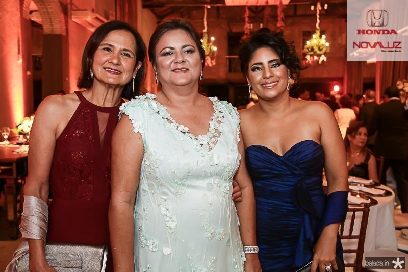 Marcia Weber, Marta Cunha e Bianca Costa