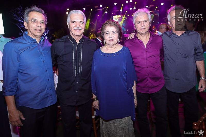 Eduardo, Pio, Edyr, Ricardo e Clovis Rolim