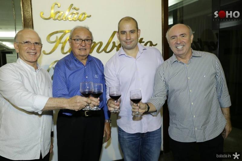 Paulo Mota, Jose Edson, Andre Linheiro e Amarilio Cavalcante
