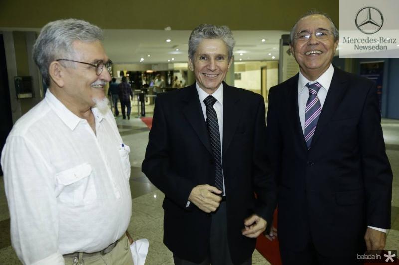 Galba Gomes, Padua Lopes e Pedro Gomes de Matos
