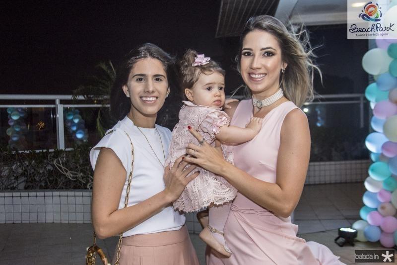 Nathalia Nogueira, Sara Sa e Liana Sa