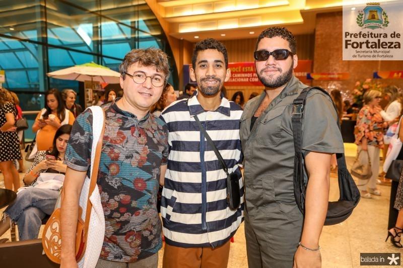 Lindenberg Fernandes, David Lee e Iury Costa