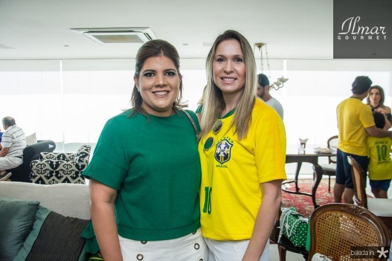 Gisela Viera e Fabia Carneiro