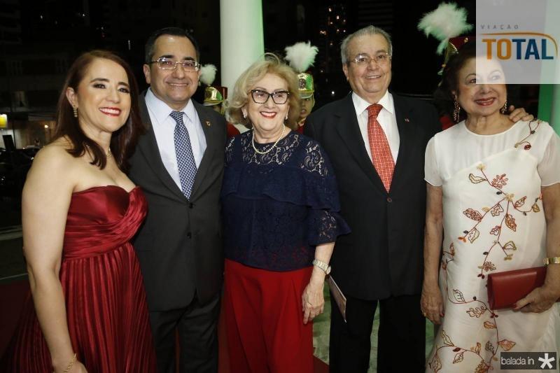 Fatima Goncalves, Jardson Cruz, Socorro Franca, Meton Cesar e Yolanda Vasconcelos