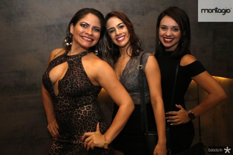 Camila Oliveira, Ana Helena e Monique Lima