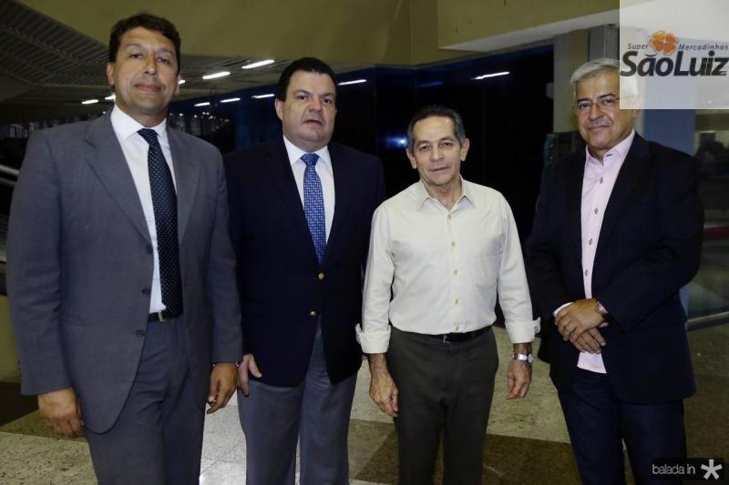 Gony Arruda, Fernando e Heitor Ferrer e Paulo Cesar Noroes
