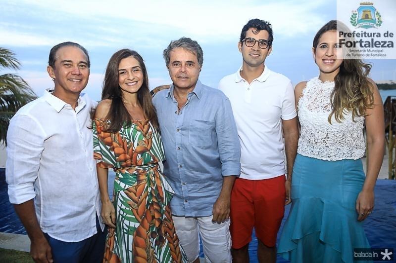 Luis Claudio e Cristina Brasil, Ivan Bezerra, Vitor e Paula Brasil