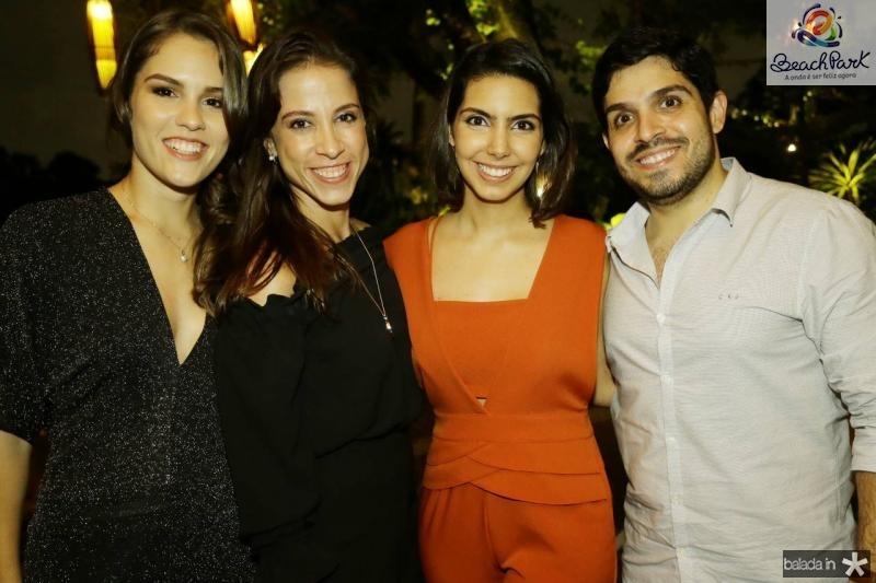 Daniela Eloy, Natercia Saboya, Carla Laprovitera e Fernando Victor