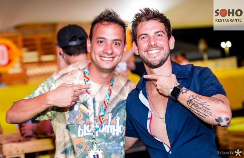 Lucas Veras e Pedro Campos